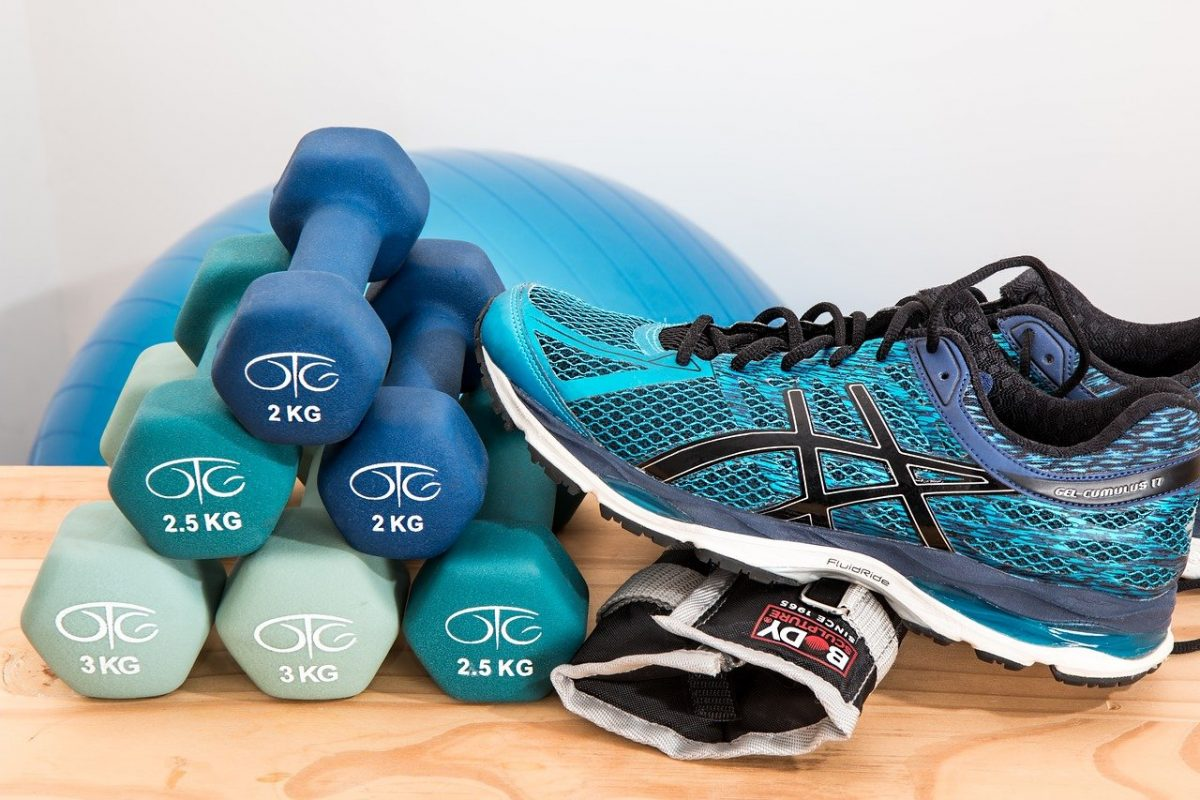 Dumbbells Shoes Sneakers Rubber Shoes Fitness Gym