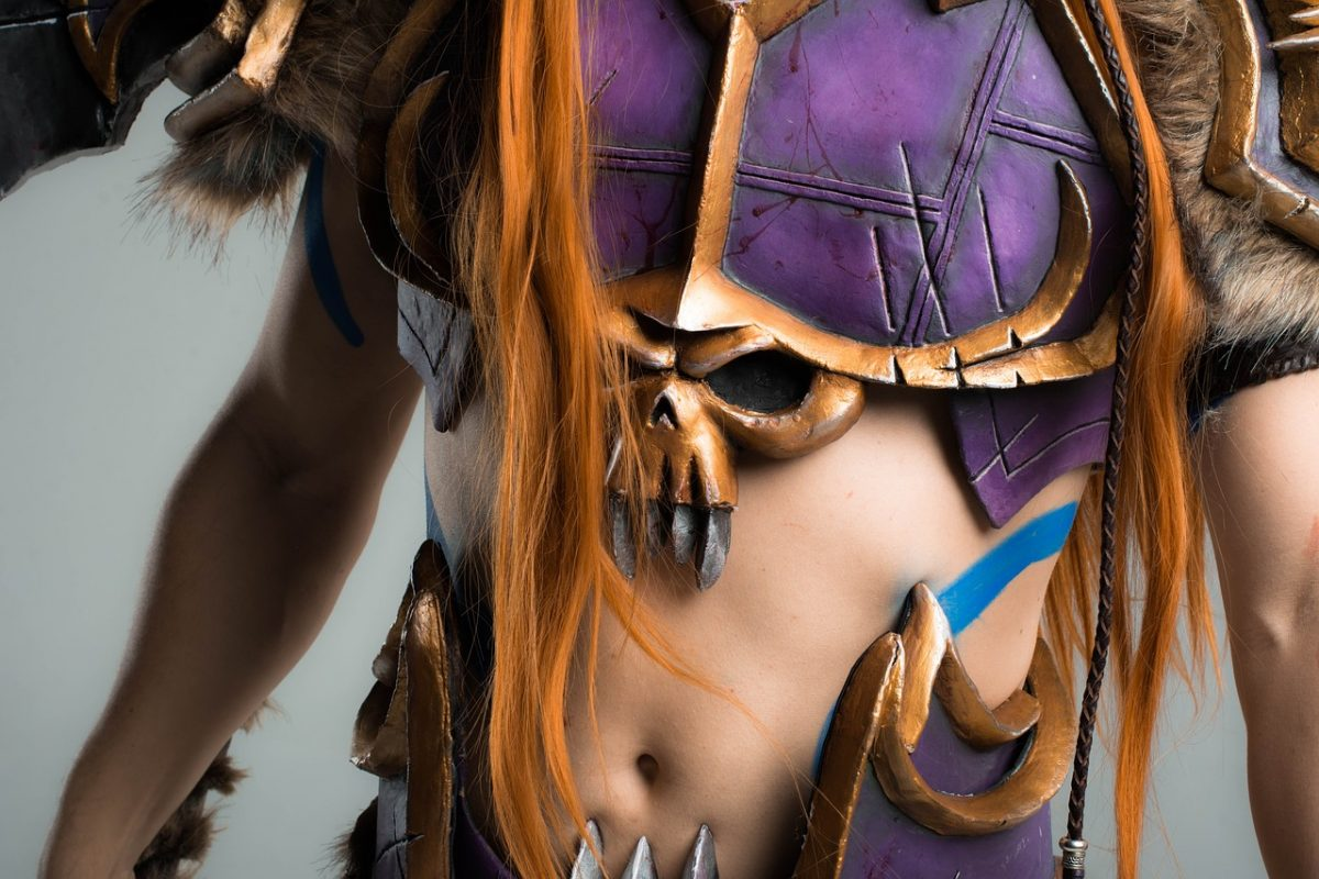 Cosplay Warcraft Armor Weapons Sword Protection